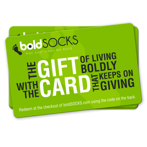 boldSOCKS Gift Card