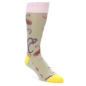21932-Tan-Pink-Paisley-Men's-Dress-Socks-Vannucci01