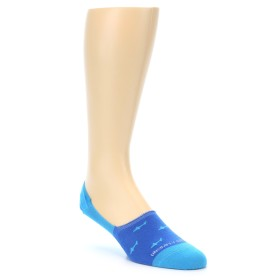 21944-Blue-Sharks-Men's-No-Show-Socks-Unsimply-Stitched01