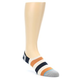 21995-Orange-Black-White-Stripe-Mens-Liner-Socks-STANCE01