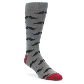 Men's Novelty Mustache Extra Large Socks