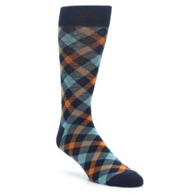 Plaid Men's Socks