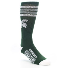 NCAA Michigan State Spartan Socks for Men