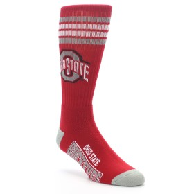 NCAA Ohio State Buckeyes Men's Socks