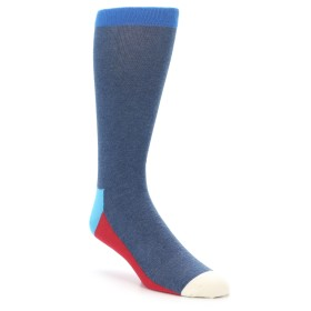 Blue Extra Large Men's Socks