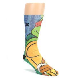 Ninja-Turtles-Raphael-Mens-Casual-Socks-Odd-Sox