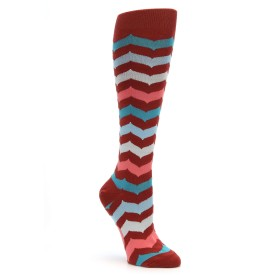 Mod Socks Chevron Knee High Women's Socks