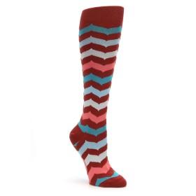 Mod Socks Chevron Knee High Women's Socks