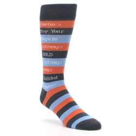 HTML Programmer Code Socks for Men
