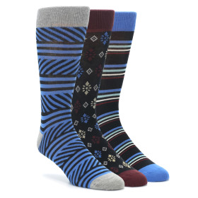 PACT Coastline Socks Gift Box for Men