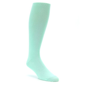 Mint Over the Calf Dress Socks for Men