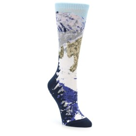 Charitable Endangered Snow leopard Socks for Women