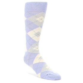 Violet-Lavender-Argyle-Mens-Dress-Socks-Statement-Sockwear