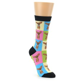 Novelty Women's Chihuahua Dog Socks