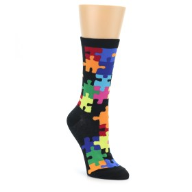 Women's Novelty Puzzle Socks