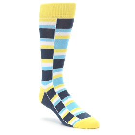 22434-Yellow-Malibu-Gray-Stacked-Mens-Dress-Socks-Statement-Sockwear01