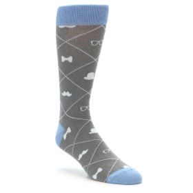 boldSOCKS Hipster Argyle Novelty Socks