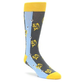 Novelty Men's Fishing Socks by boldSOCKS