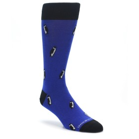 Blue Penguin Novelty Socks for Men