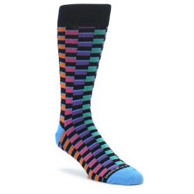 Multi Color Checkered Socks