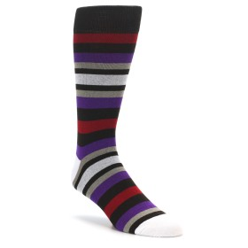 Extra Large Brown Stripe Socks