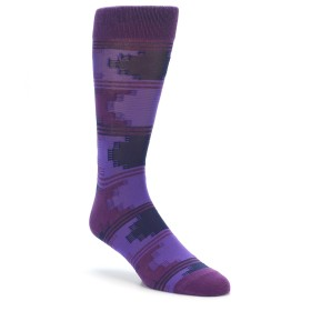 Richer Poorer Purple Counselor Socks