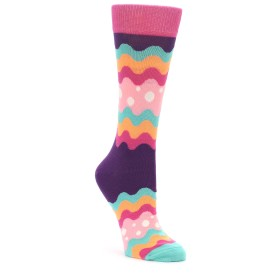 Happy Socks Women's Soda Pop Stripe Pink