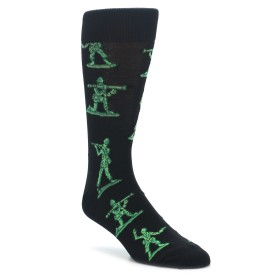 22882-Green-Black-Toy-Army-Men-Mens-Dress-Socks-Socksmith01