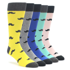 Mustache Sock Collection by boldSOCKS