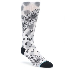 Stance Olympia White Paisley Socks