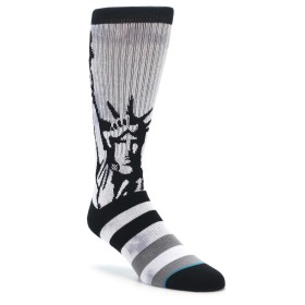 STANCE Lady Liberty Men's Socks in Grey