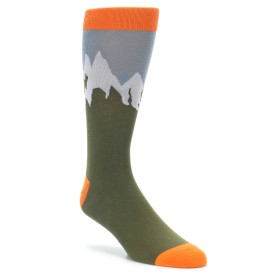 Novelty Mountain Summit Socks for Men
