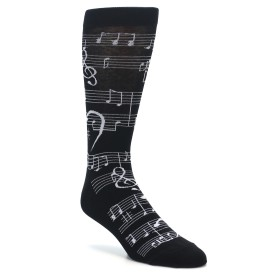 Music Note Socks for Men