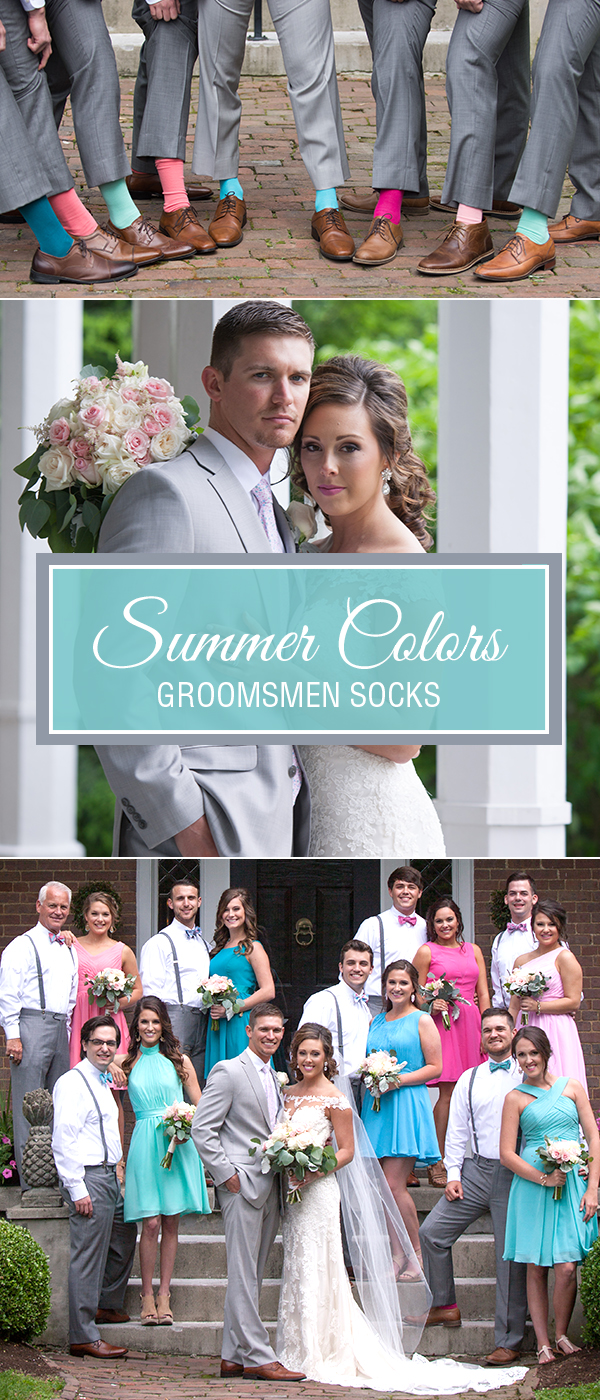 Colorful Wedding Socks