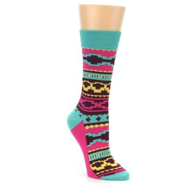 Yo Sox Women's Aztek Print Socks
