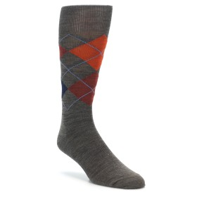 Smartwool Diamond Slim Jim Taupe Moab Rust