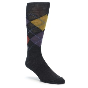 Smartwool Diamond Jim Slim Socks Charcoal Heather