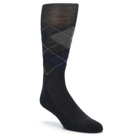 Smartwool Socks Charcoal Heather Diamond Jim