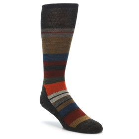 Smartwool Saturnsphere Men's Wool Socks Brown