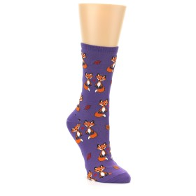 Novelty Women's Fox Love Socks