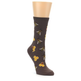 Women's Novelty Honey Bee Socks