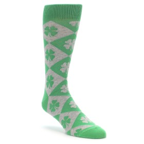 Irish Shamrock Clover Socks for Men