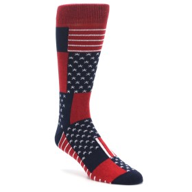Richer Poorer Anthem USA Made Socks for Men
