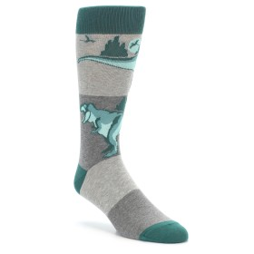 T-Rex Dinosaur Socks by boldSOCKS for Men