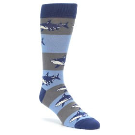Great White Shark Socks for Men by boldSOCKS
