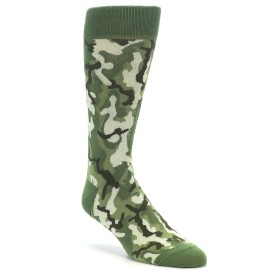 Green Camo Socks for Men