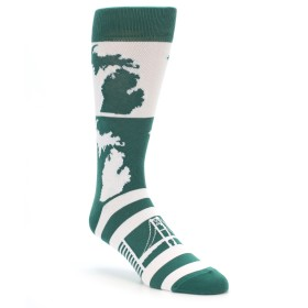Michigan State University inspired Socks for Men