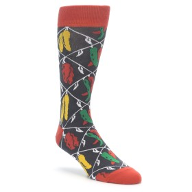 Red Hot Spicy Pepper Socks for Men