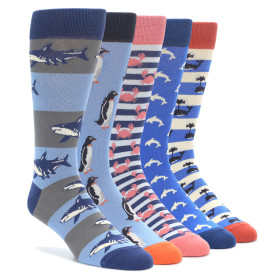 Aquatic Water Animals Sock Collection