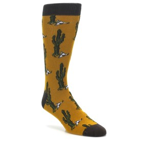 Desert Cactus Novelty Socks for Men